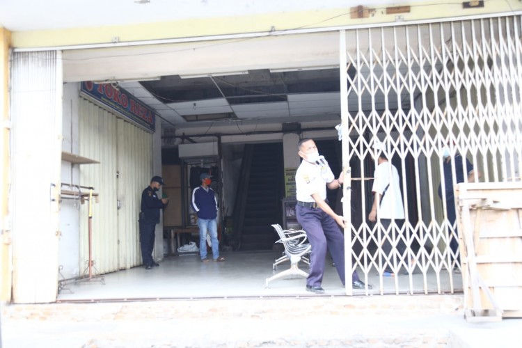 Pemkot Tutup Pasar Bambu Kuning