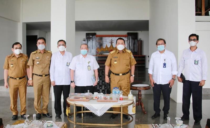 Pemprov dan KNI-ICID Optimalkan Pengelolaan Irigasi di Lampung