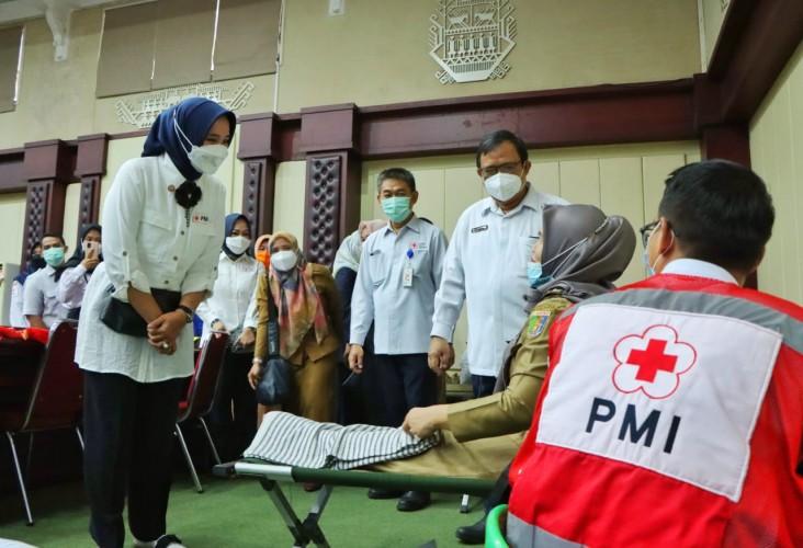 Pemprov dan PMI Lampung Luncurkan Gerakan Siger Donor Darah