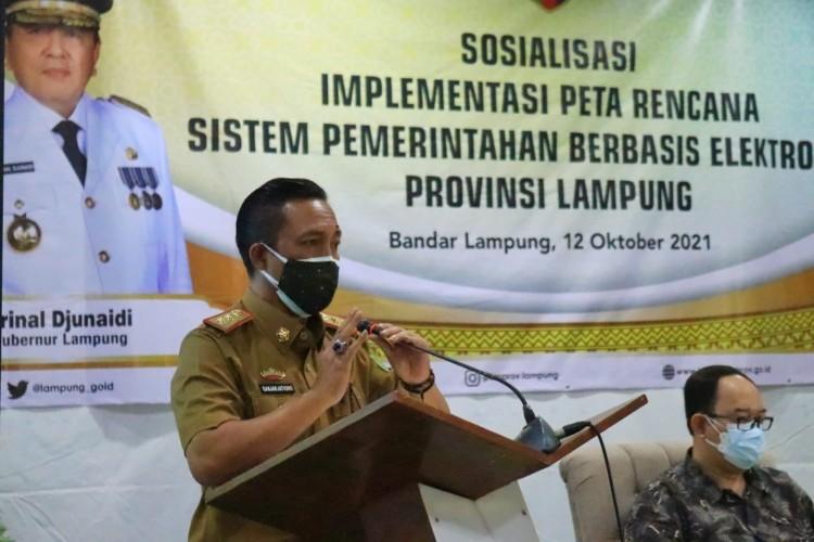 Pemprov Dorong Pelayanan Berbasis IT di Lampung
