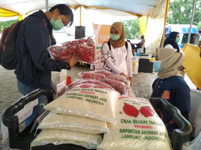 Pemprov Gelar Operasi Pasar Taat Prokes