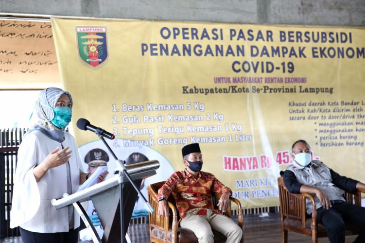Pemprov Gulirkan Operasi Pasar di Tubabar