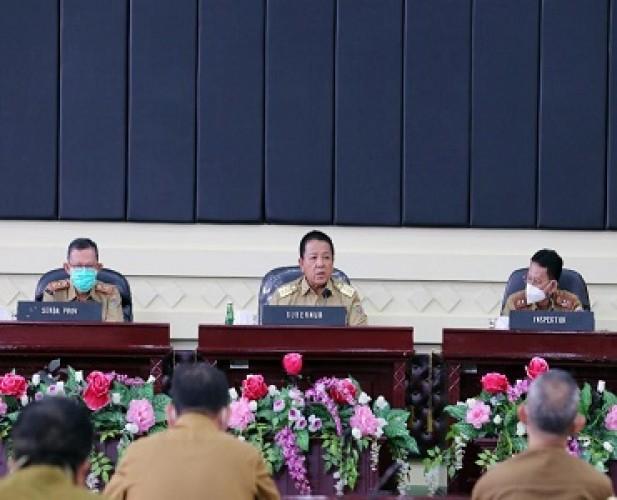 Pemprov Komitmen Pengendalian Gratifikasi di Lampung