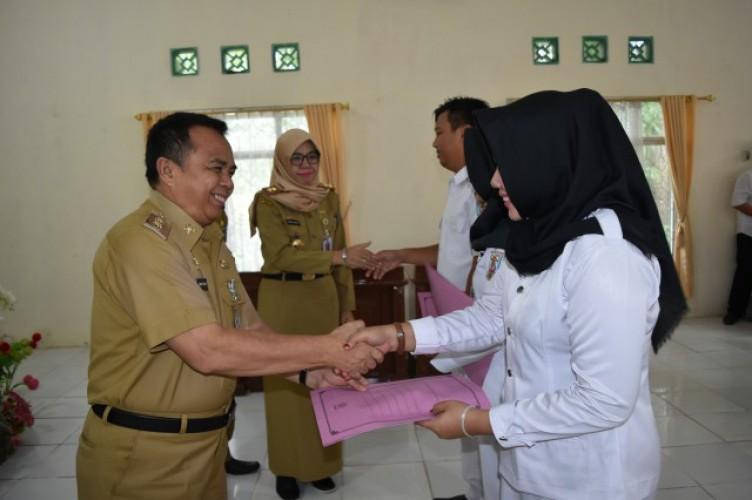 Pemprov Lampung Berikan Insentif pada TKS Perawat di Way Kanan