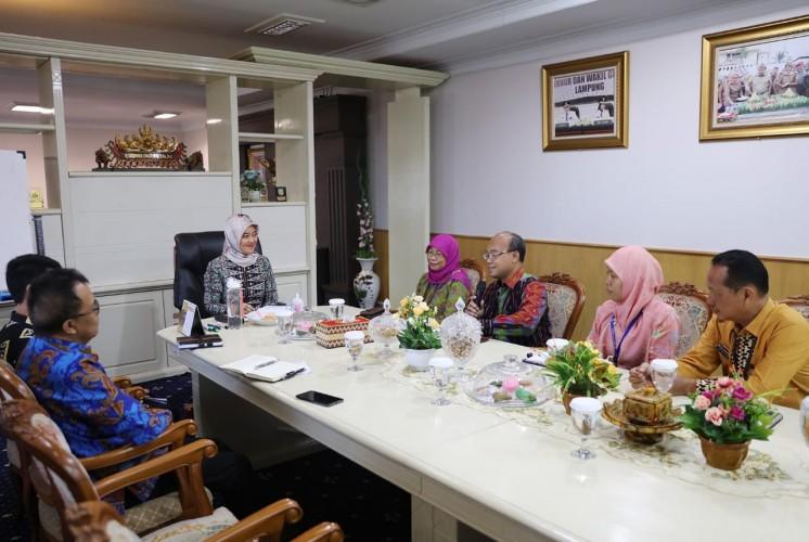 Pemprov Lampung-BPS Bersinergi Bentuk Forum Satu Data