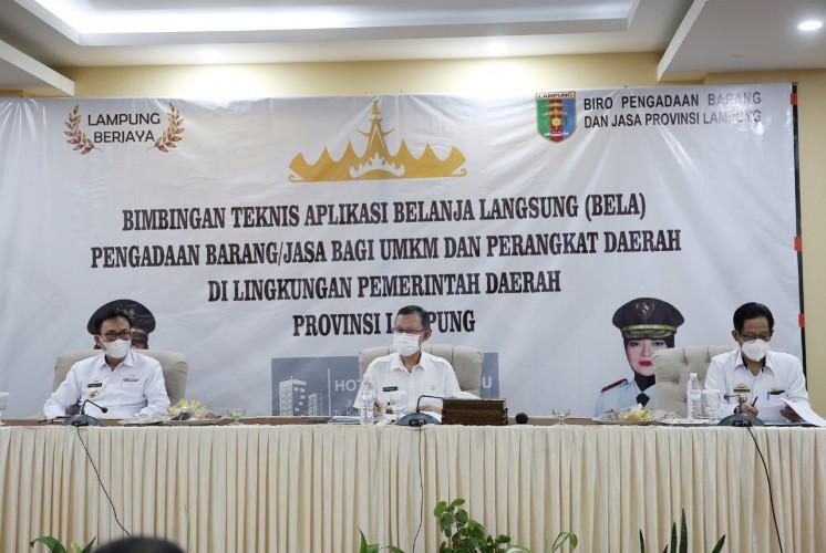 Pemprov Lampung Dorong Digitalisasi UMKM Lewat Aplikasi Bela