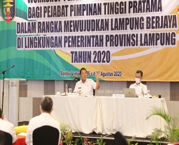 Pemprov Lampung Mempercepat Pemulihan di Tiga Sektor