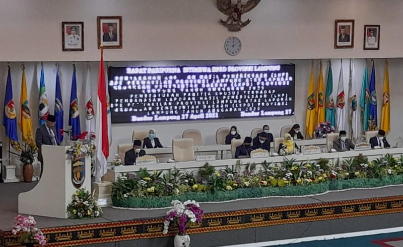 Pemprov Lampung Raih WTP Tujuh Kali Berturut