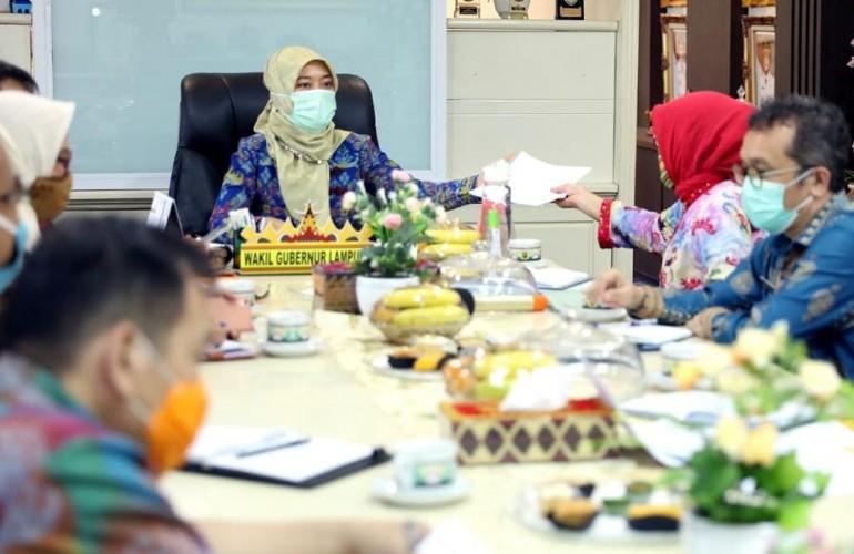 Pemprov Lampung Sinkronasi Data Bansos Penanggulangan Kemiskinan