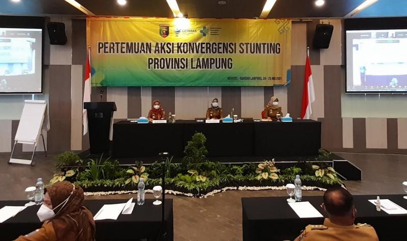 Pemprov Lampung Tangani Stunting Lewat Aksi Konvergensi