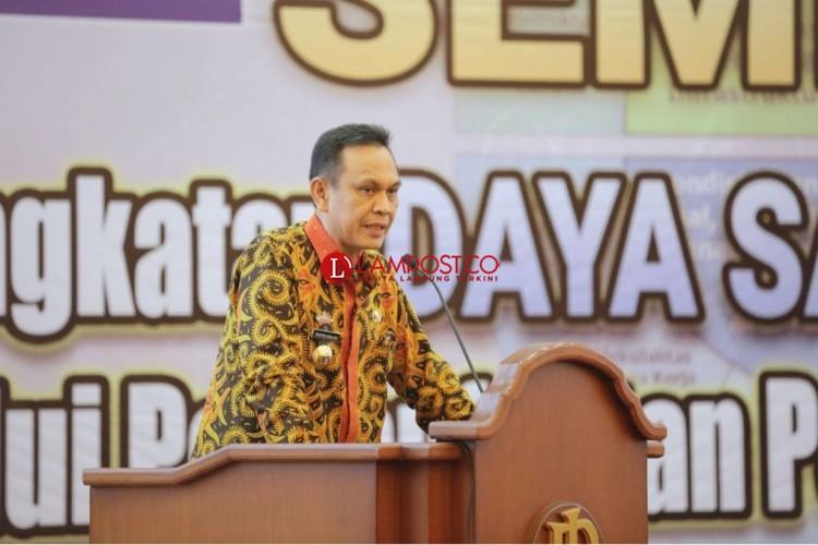 Pemprov Lampung Targetkan Tekan 70 Persen Sampah di Teluk Lampung