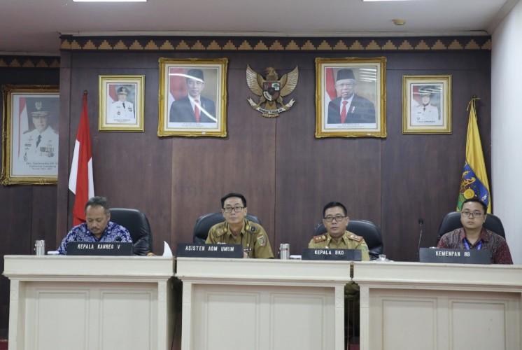 Pemprov Lampung Terapkan Sistem Online Kepegawaian