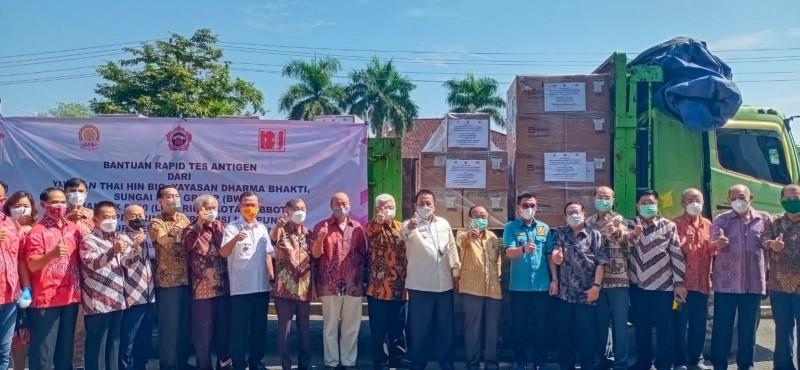 Pemprov Lampung Terima Bantuan 5.000 Paket Tes Antigen