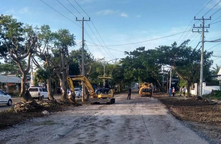 Pemprov Lampung Terus LanjutkanPerbaikan Jalan Mayjen Ryacudu