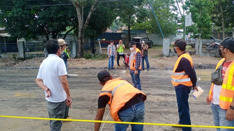 Jalan-Jalan Utama di Lampung Diperbaiki