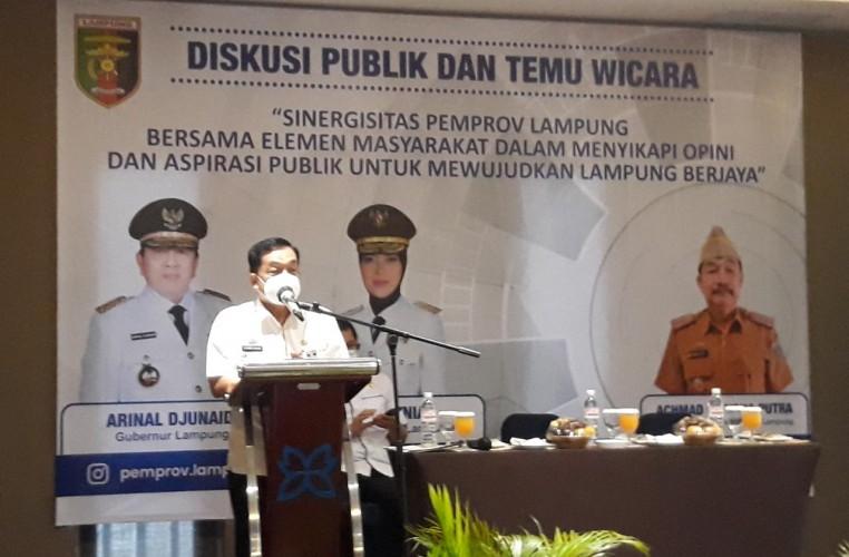 Pemprov Rangkul Elemen Masyarakat Wujudkan Lampung Berjaya