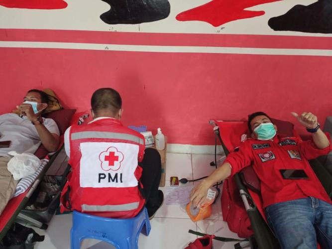 Pemuda Batak Bersatu Gelar Donor Darah dengan Prokes