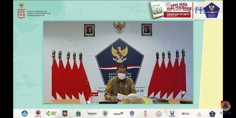 Pemuda Jadi Pionir Daerah Melawan Covid-19