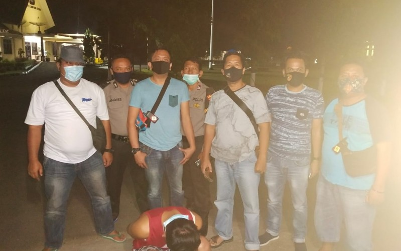 Pemuda Komplotan Perampas Ponsel di Lampura Dibekuk