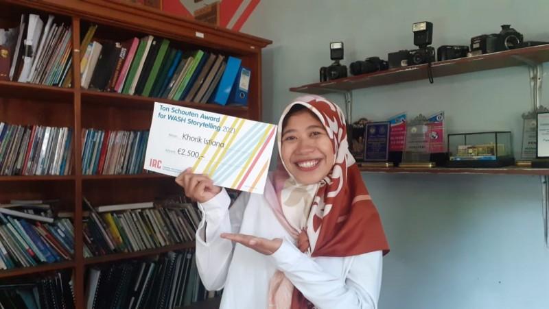 Pemuda Lampung Sabet Penghargaan Internasional Bidang Sanitasi