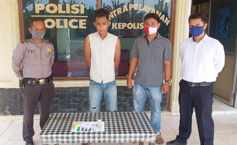 Pemuda Pemakai Sabu Asal OKI Diamankan di Tulangbawang