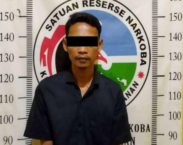 Pemuda Pemakai Sabu di Kampung Kalipapan Way Kanan Ditangkap