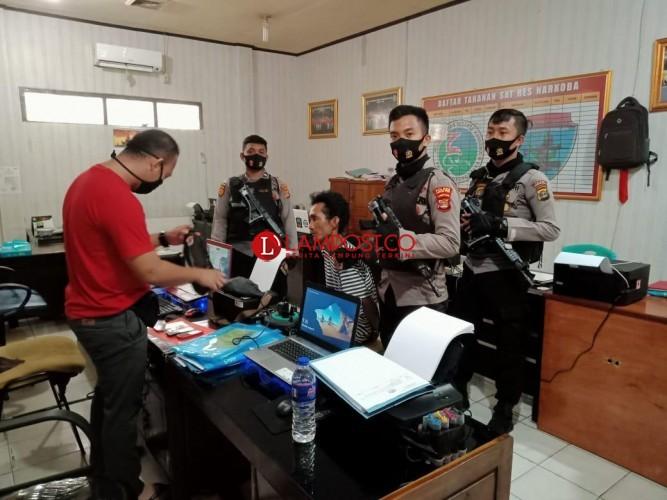 Pemuda Pembawa Sabu Ditangkap di Kotabumi