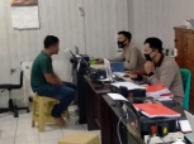 Pemuda Pengedar Sabu Ditangkap saat Hendak Bertransaksi