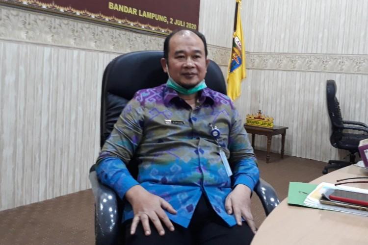 Penanganan Covid-19 di Lampung Serap 18,41% Anggaran