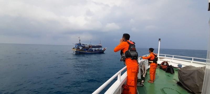 Pencarian 20 ABK KM EMJ 7 yang Hilang Kontak di Tanjung Belimbing Nihil