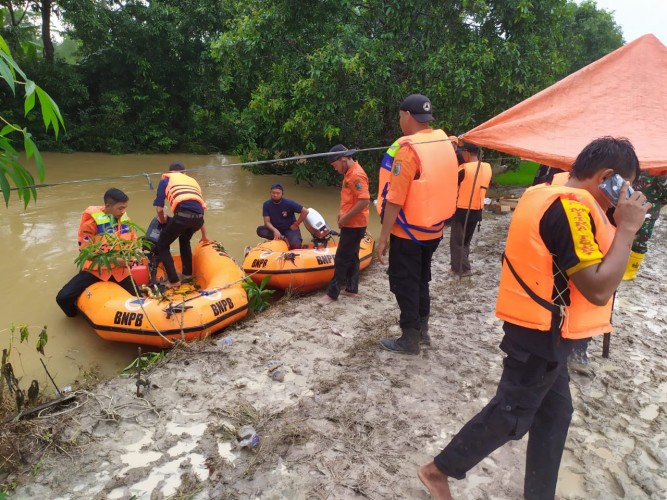 Pencarian Korban Tenggelam di Way Penet Masih Berlanjut