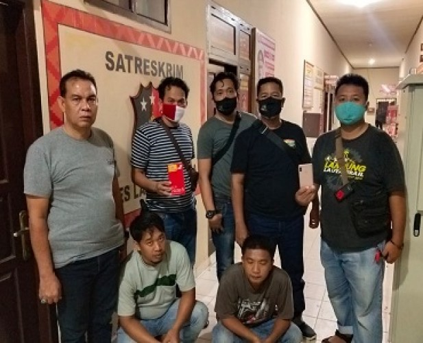 Pencuri dan Penadah Ponsel Curian di Lampura Diringkus