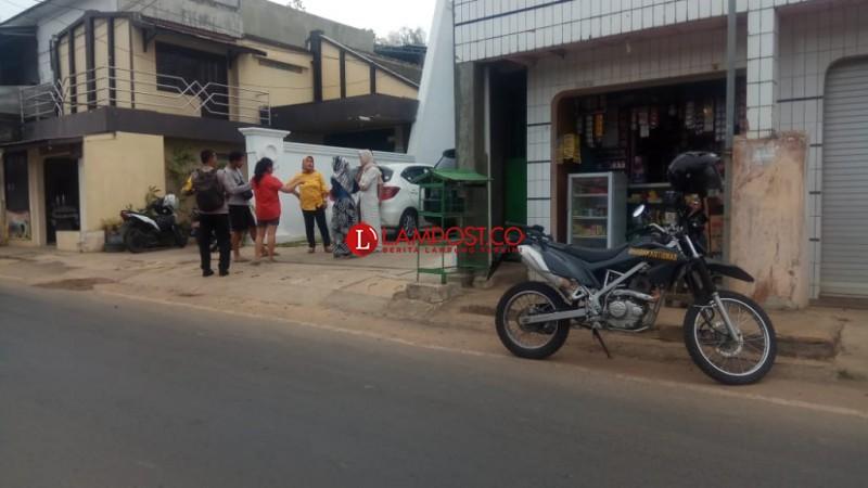 Pencuri Gasak Motor di Kedaton Sambil Umbar Tembakan