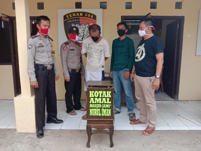 Pencuri Kotak Amal di Tambahrejo Diamuk Massa