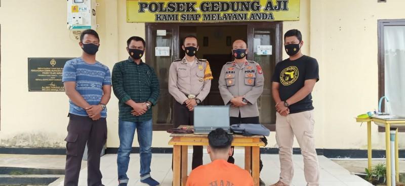 Pencuri Laptop di Penawaraji Ditangkap saat Bawa Kabur Hasil Curian