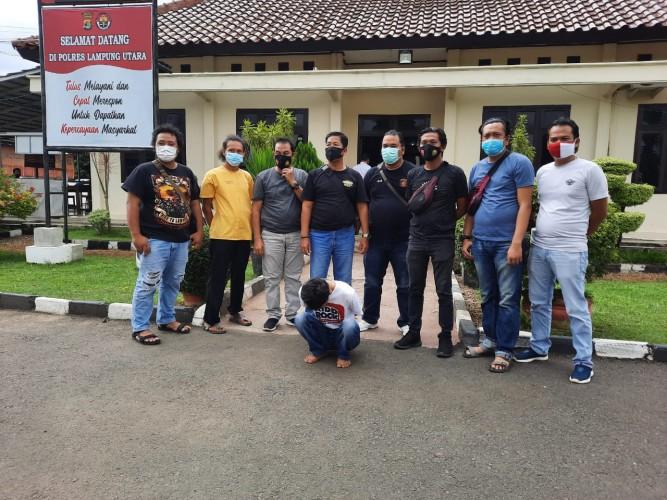 Pencuri Motor Buron Ditangkap di Rumah Makan Seruit