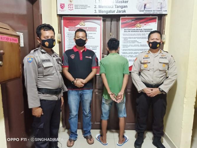 Pencuri Sepeda Motor di Asrama Putri Diringkus Polisi