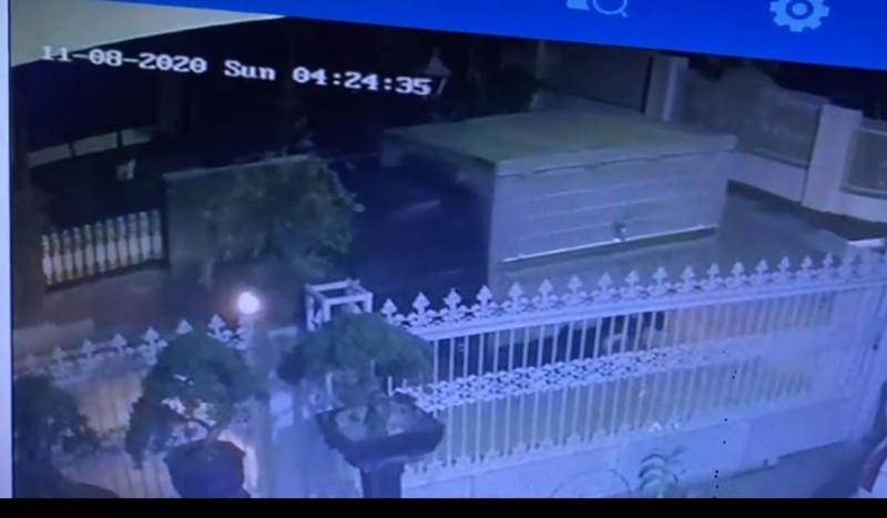 Pencurian Mobil di Kedaton Terekam CCTV