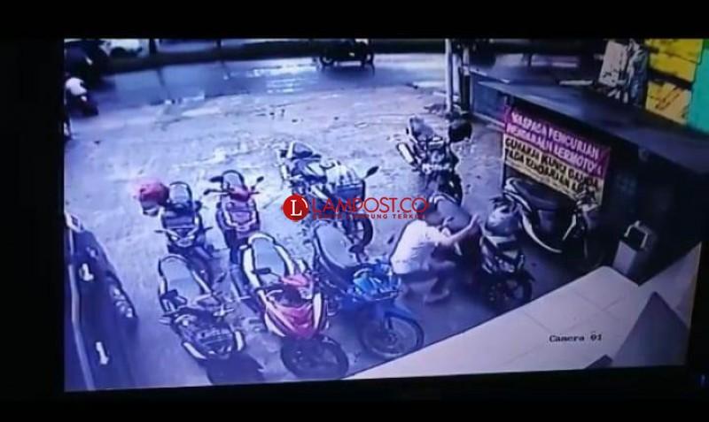 Pencurian Motor di Bandar Lampung Marak Lagi