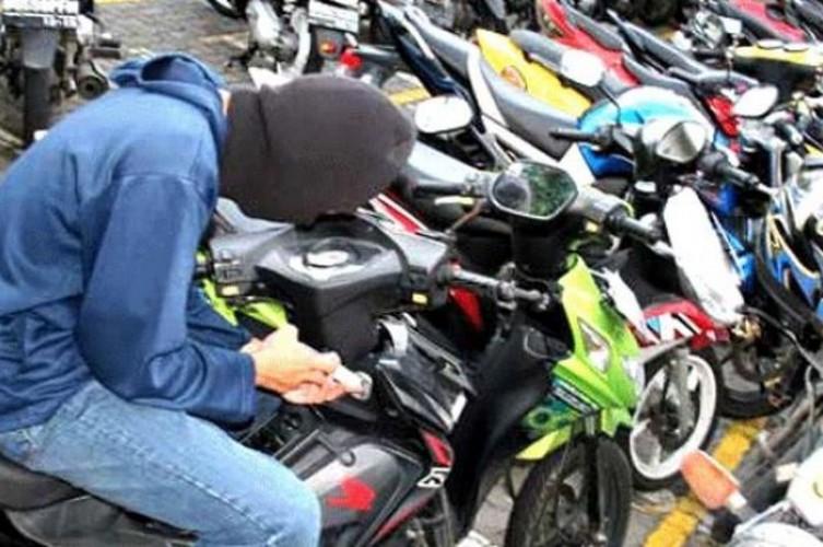 Pencurian Motor Makin Merajalela di Lamsel