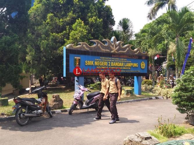 Pendaftar Bosda di SMKN 2 Bandar Lampung Capai 30% dari Siswa Baru