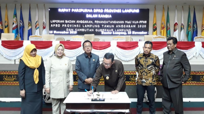 Pendapatan Daerah Lampung Capai Rp7,8 Triliun
