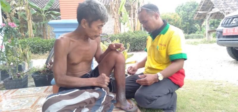 Penderita Kusta di Baliagung Dapat Pengobatan Rutin