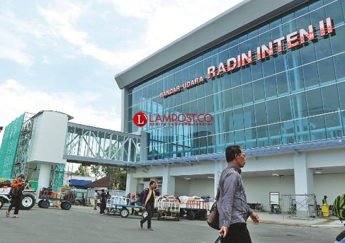 Penerbangan di Bandara Radin Inten II Meningkat Sepanjang November 2020