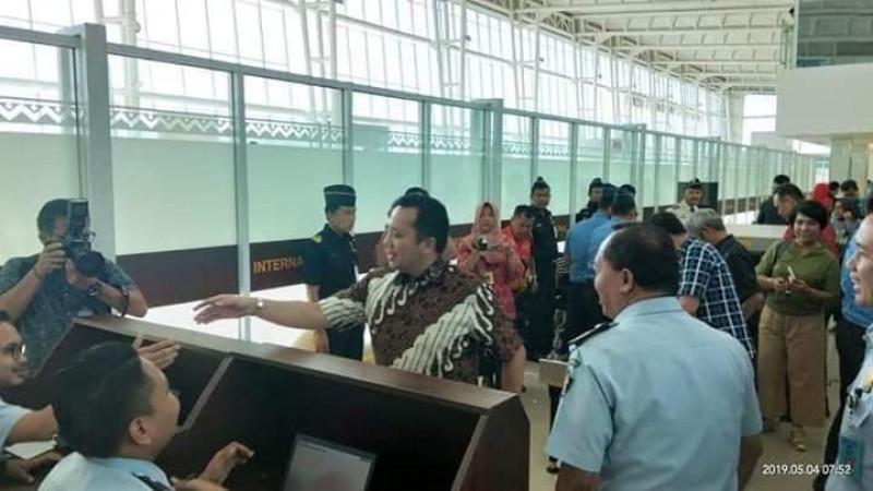 Penerbangan Perdana Lampung Kuala Lumpur