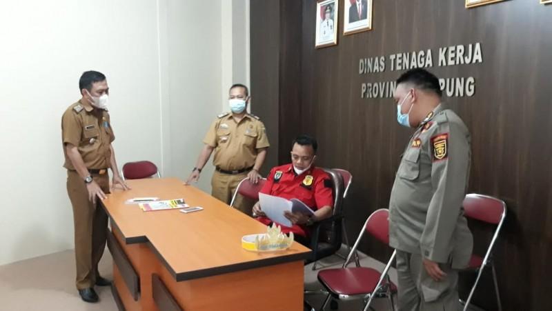 Pengaduan dari Pekerja Terdampak PPKM di Lampung Nihil