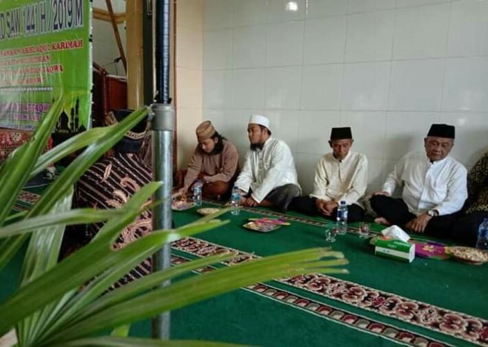 Pengajian Warga Desa Kampungbaru Dihadiri Ustaz dari Banten