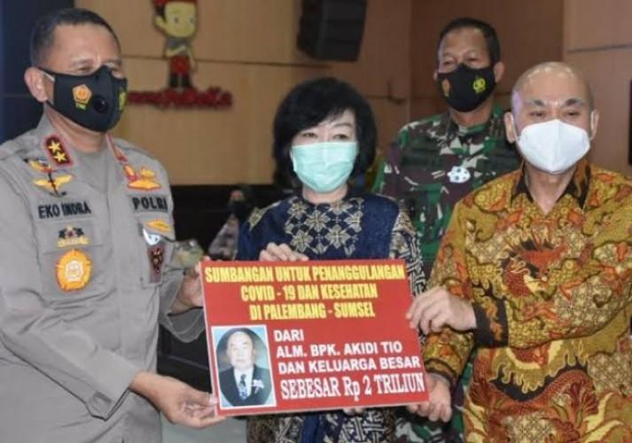 Pengakuan Kapolda Sumsel Awal Bantuan Fiktif Rp2 Triliun Akidi Tio