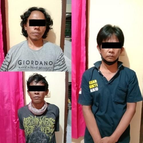Pengedar Bersama Dua Pengguna Sabu di Lamteng Dibekuk Polisi