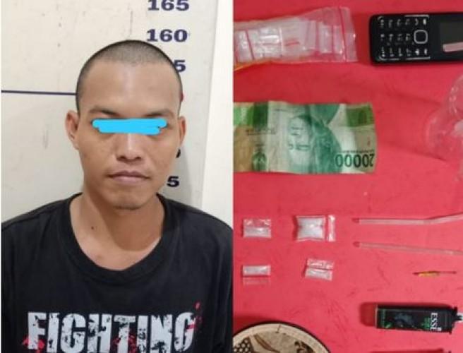 Pengedar Sabu di Kalianda Ditangkap Polisi